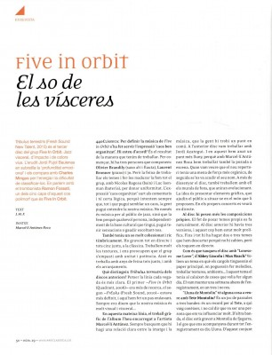 440 Clàssica & Jazz - Entrevista a Ramon Fossati - Five in Orbit (2)
