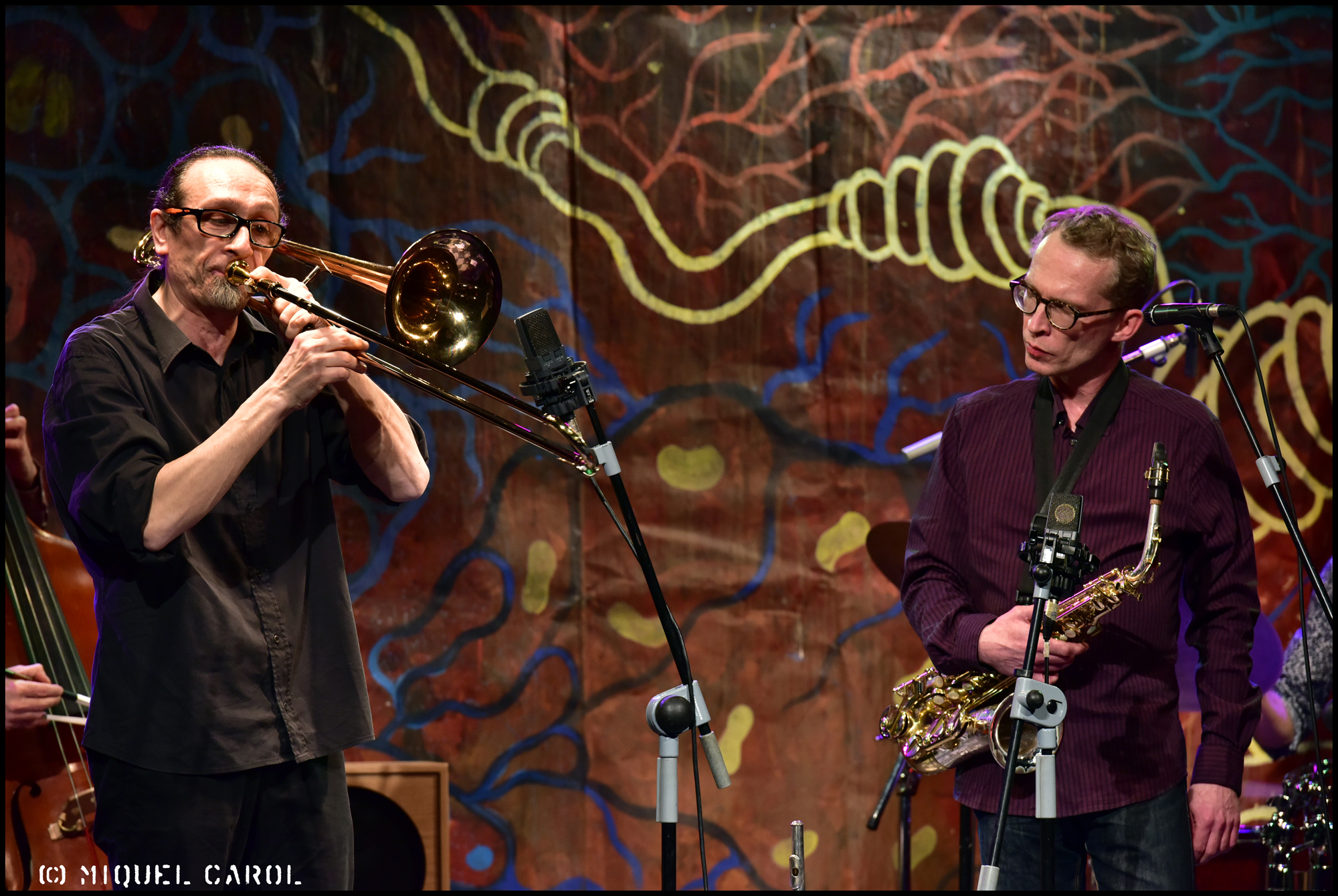 Five in Orbit a la Nova Jazz cava durant el 35 Festival de Jazz de Terrassa. 5 de mar de 2016